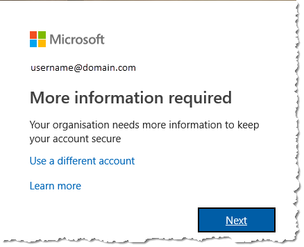 Office 365 - More information required
